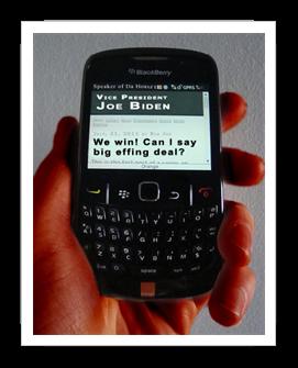 Biden text to Obama