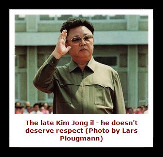 UN hero Kim Jong il