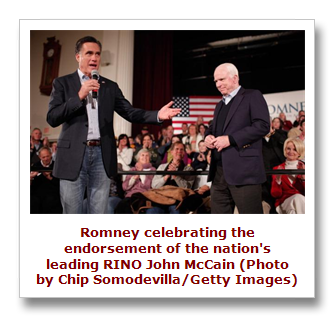 Romney and McCain