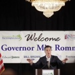 GOP Candidate Mitt Romney Campaigns In Michigan