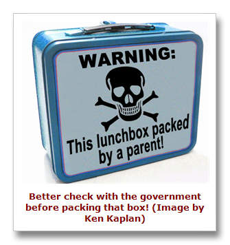 government approves lunchbox contents