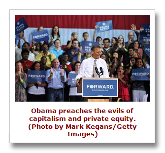 Obama doesn't understand private equity
