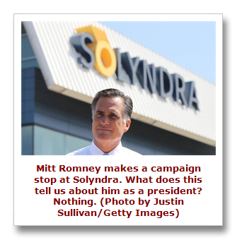 Romney at Solyndra