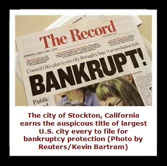 Stockton, California Bankruptcy