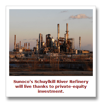 Sunoco refinery saved by private-equity