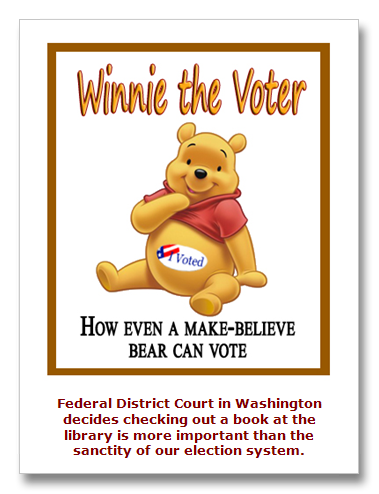 Court rules anyone can vote, maybe even a bear