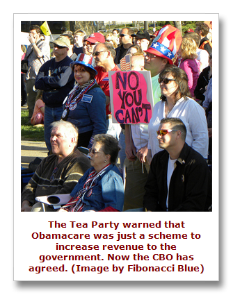 Tea Party protest against Obamacare