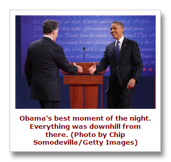 Obama loses first debate to Romney