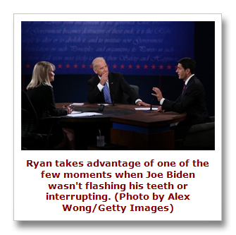 Biden and Ryan debate