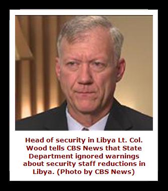 Lt. Col. Andy Wood, Head of security in Libya