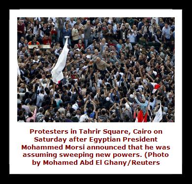 Morsi edict creates riots in Egypt