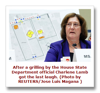 State Department office Charlene Lamb
