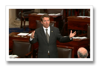 Rand Paul on Senate floor
