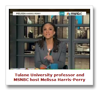 Ms. Harris-Perry believes your children belong to them