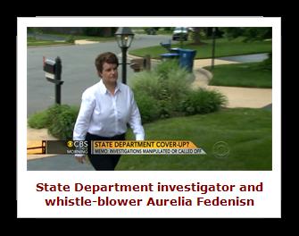 State Department whistle-blower Aurelia Fedenisn